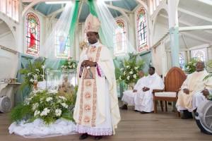 Chief Celebrant: His Excellency Fortunatus Nwachukwu, Papal Nuncio.