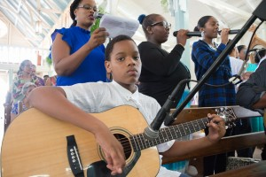 Members of the Tortuga Parish Choir